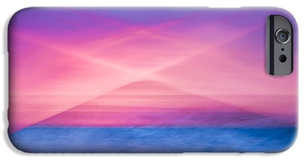 Bathing iPhone Cases - Bathing Corp Sunrise iPhone Case by Ryan Moore