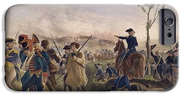 Ambition Photographs iPhone Cases - Battle Of Bennington, 1777 iPhone Case by Granger