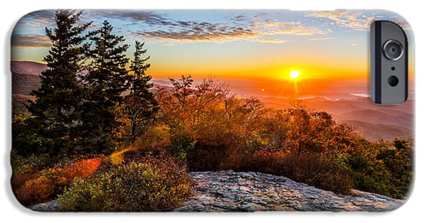 Recently Sold -  - Forest iPhone Cases - Beacon Heights sunrise iPhone Case by Anthony Heflin