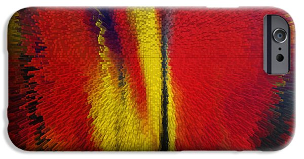 Abstract Paintings iPhone Cases - Beautiful Dream iPhone Case by Sir Josef  Putsche