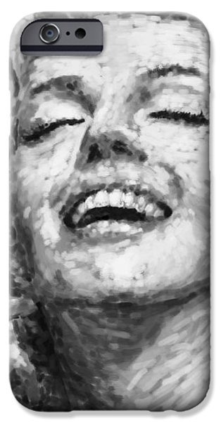 beautifully happy iPhone Case by ATIKETTA SANGASAENG