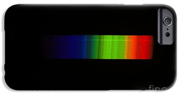 Absorb iPhone Cases - Betelgeuse Emission Spectrum iPhone Case by Dr Juerg Alean