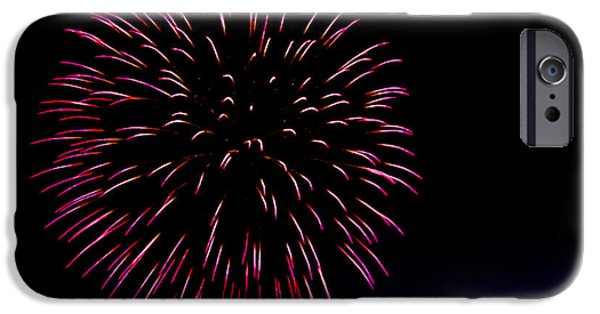 4th Of July iPhone Cases - Big Red iPhone Case by Robert Bales