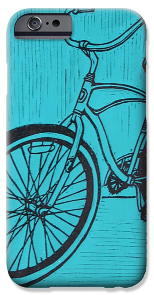 Bike 6 iPhone Case by William Cauthern
