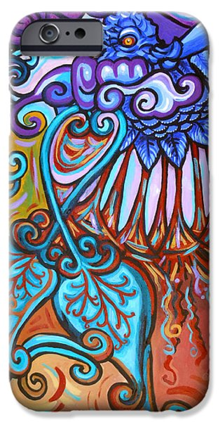 Gaia iPhone Cases - Bird Heart I iPhone Case by Genevieve Esson