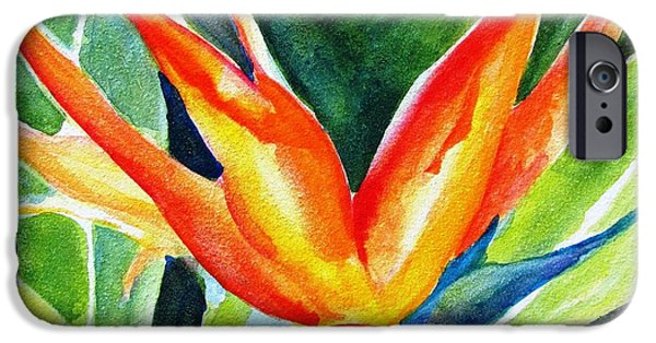 Recently Sold -  - Flora iPhone Cases - Bird of Paradise  iPhone Case by Carlin Blahnik