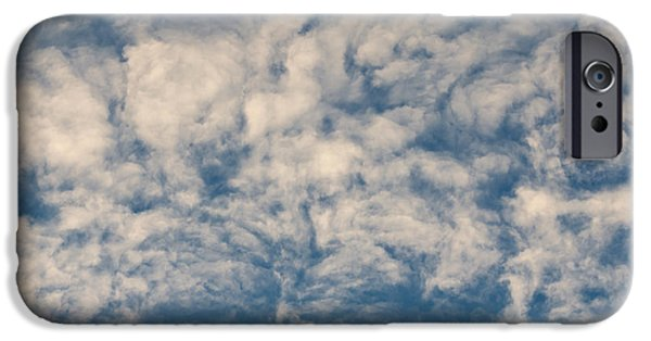 Fanciful iPhone Cases - Bizarre Clouds iPhone Case by Michal Boubin