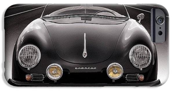 Automotive iPhone Cases - Black Speedster iPhone Case by Douglas Pittman
