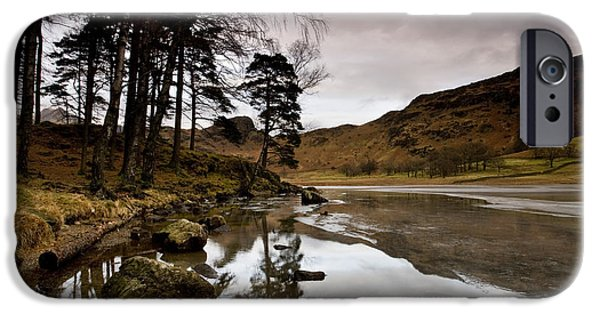 Little iPhone Cases - Blea Tarn at Great Langdale iPhone Case by Sam Oakes