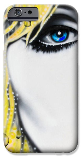 Blondie iPhone Case by Alicia Hayes
