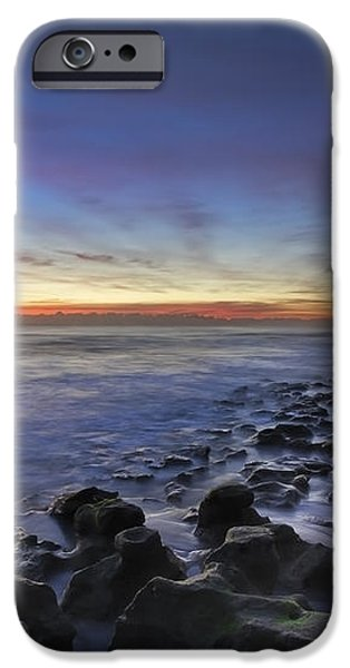 Blue Lagoon iPhone Case by Debra and Dave Vanderlaan