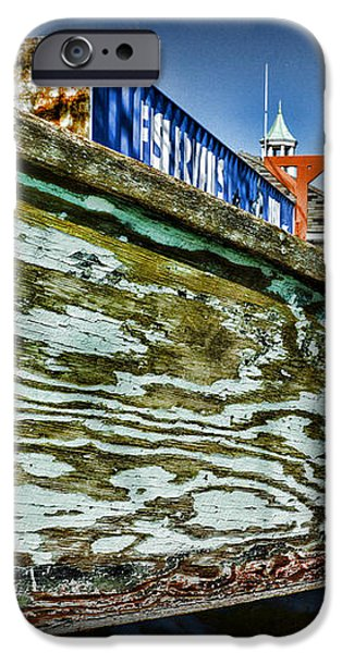 Boat Forever Dry Docked iPhone Case by Paul Ward