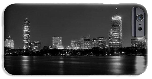 Charles River iPhone Cases - Boston and the Charles River iPhone Case by Mountain Dreams