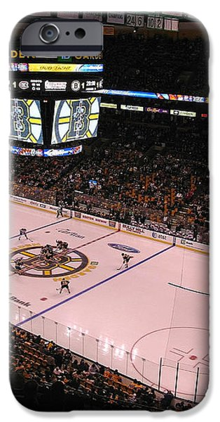 Boston Bruins iPhone Case by Juergen Roth