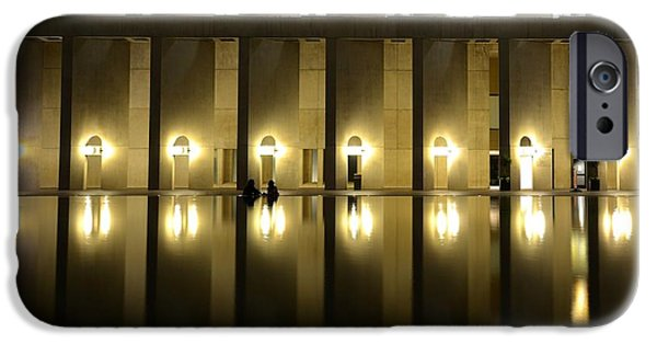 Oxford. Oxford Ma. Massachusetts iPhone Cases - Boston Reflecting Pool Christian Science Church iPhone Case by Toby McGuire