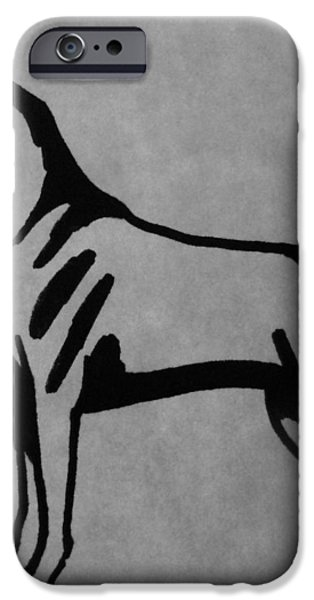 Boxer iPhone Case by Joann Renner
