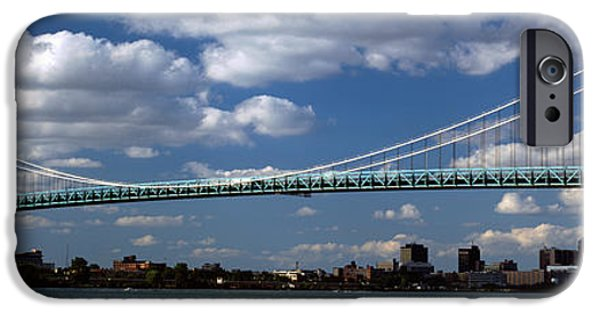 Built Structure iPhone Cases - Bridge Across A River, Ambassador iPhone Case by Panoramic Images