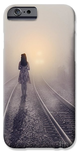 Drama Mixed Media iPhone Cases - Broken Love iPhone Case by Svetlana Sewell