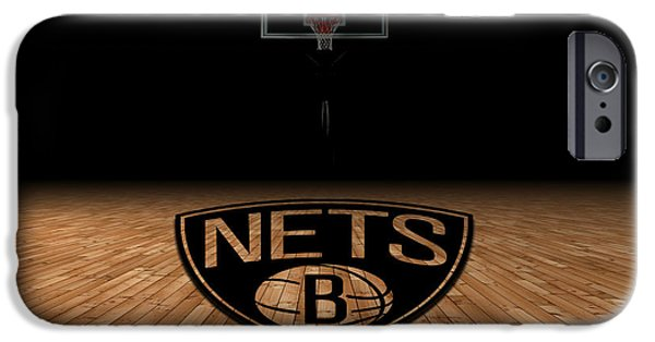 Division iPhone Cases - Brooklyn Nets iPhone Case by Joe Hamilton