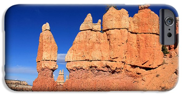 Designs In Nature iPhone Cases - Bryce Canyon iPhone Case by Aidan Moran