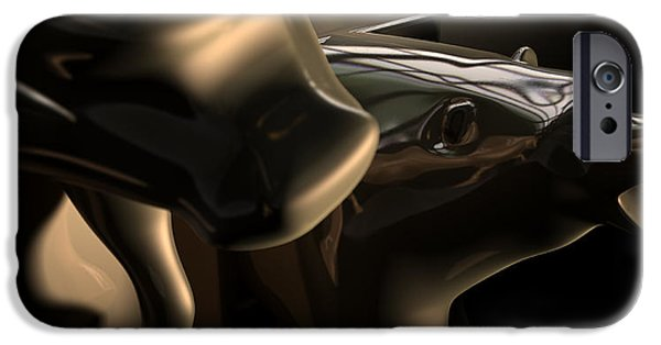 Business Digital iPhone Cases - Bull And Bear Stock Market Statues iPhone Case by Allan Swart