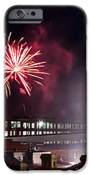 Bull Durham Fireworks iPhone Case by Jh Photos