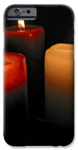 Burning candles iPhone Case by Elena Elisseeva