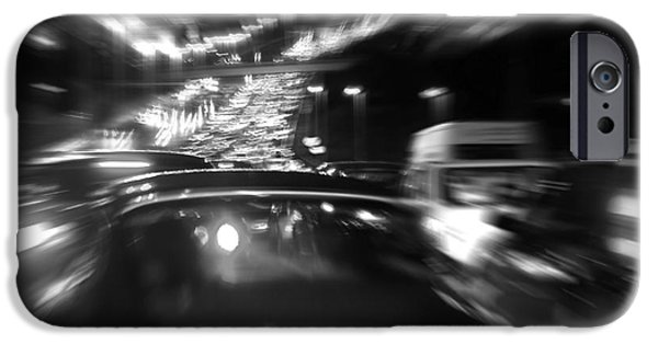 Asphalt iPhone Cases - Busy Highway iPhone Case by Carlos Caetano