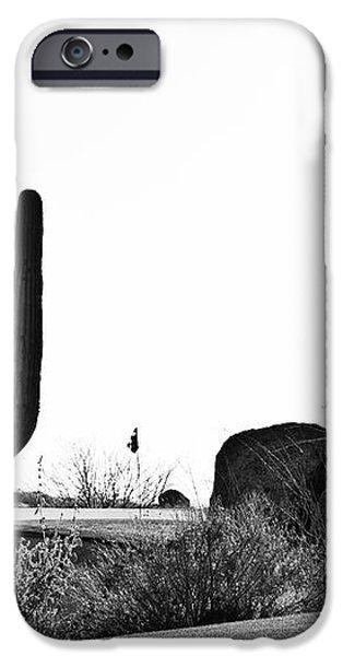 Cactus Golf iPhone Case by Scott Pellegrin