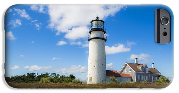 Cape Cod Lighthouse iPhone Cases - Cape Cod Lighthouse iPhone Case by Diane Diederich