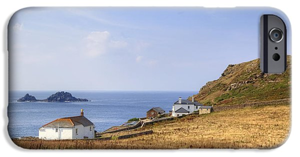 Heinz iPhone Cases - Cape Cornwall iPhone Case by Joana Kruse