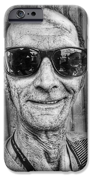 My Friend iPhone Cases - Carl 1 iPhone Case by Jerry Cordeiro