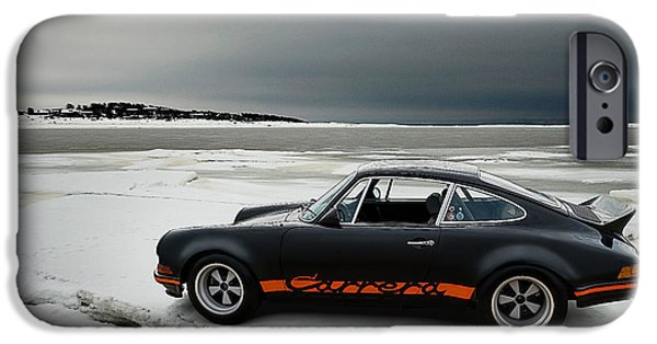 Automotive iPhone Cases - Carrera RSR iPhone Case by Douglas Pittman