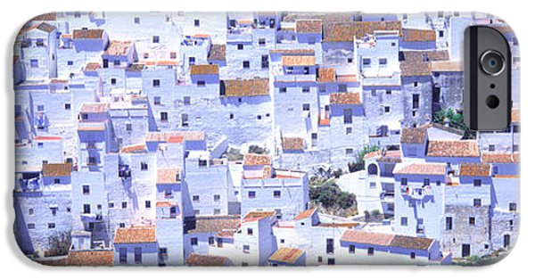 Texture iPhone Cases - Casares, Andalucia, Spain iPhone Case by Panoramic Images