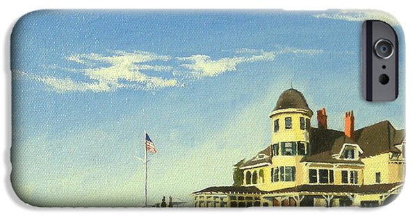 Best Sellers -  - Sand Castles iPhone Cases - Castle Hill Inn Newport Rhode Island iPhone Case by Christine Hopkins