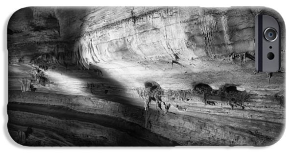 Cathedral Rock iPhone Cases - Cathedral Caverns in Alabama iPhone Case by Mountain Dreams