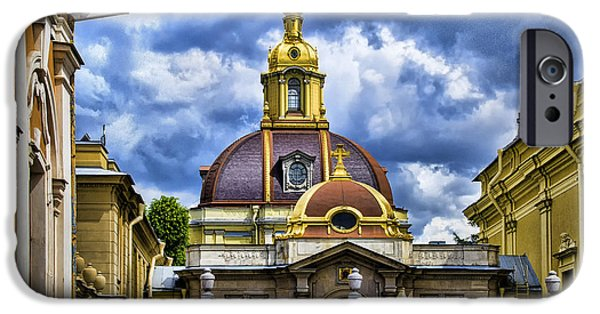 St John The Russian iPhone Cases - Cathedral of Saints Peter and Paul - St. Petersburg Russia iPhone Case by Jon Berghoff