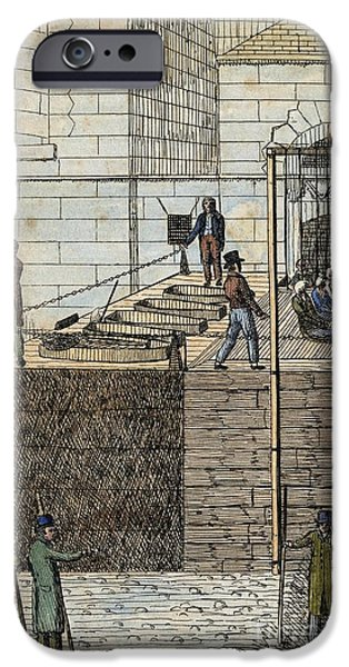 Hangman iPhone Cases - Cato Street Conspiracy Executions iPhone Case by Middle Temple Library