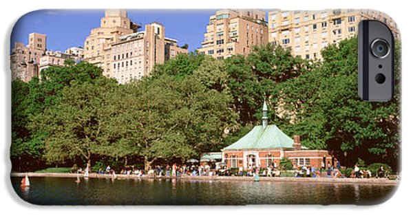 Pleasure iPhone Cases - Central Park, Nyc, New York City, New iPhone Case by Panoramic Images
