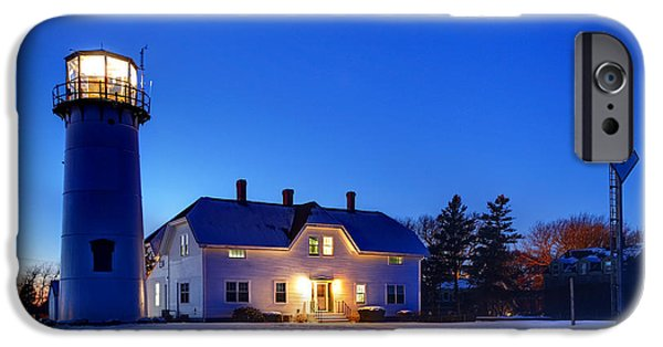 Chatham iPhone Cases - Chatham Lighthouse iPhone Case by Denis Tangney Jr