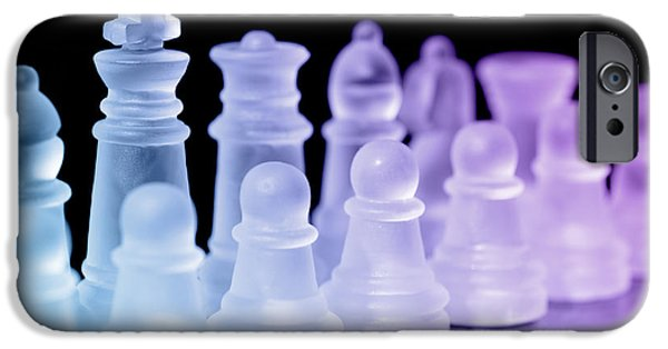 Chess Queen iPhone Cases - Chess Pieces iPhone Case by Amanda And Christopher Elwell