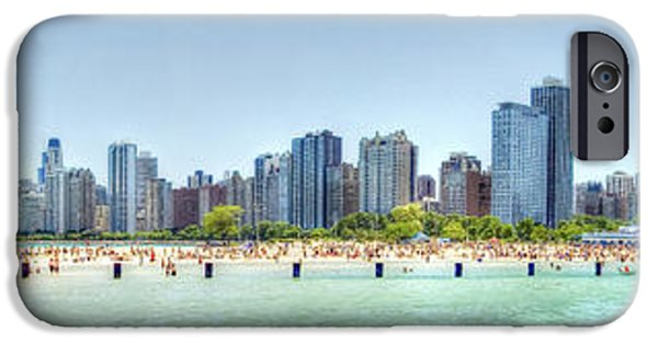4th Of July iPhone Cases - Chicago North Avenue Beach iPhone Case by Patrick  Warneka
