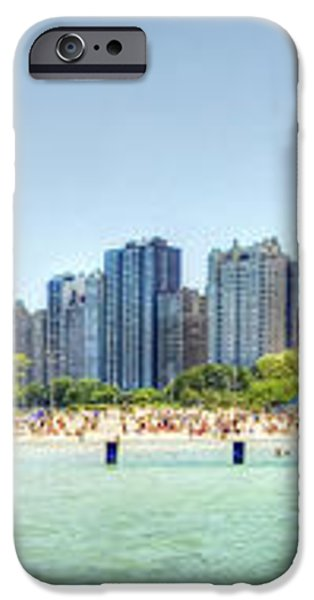 Chicago North Avenue Beach iPhone Case by Patrick  Warneka