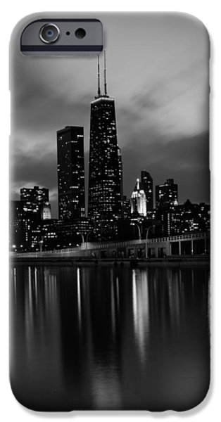 Willis Tower iPhone Cases - Chicago Reflections iPhone Case by Mountain Dreams
