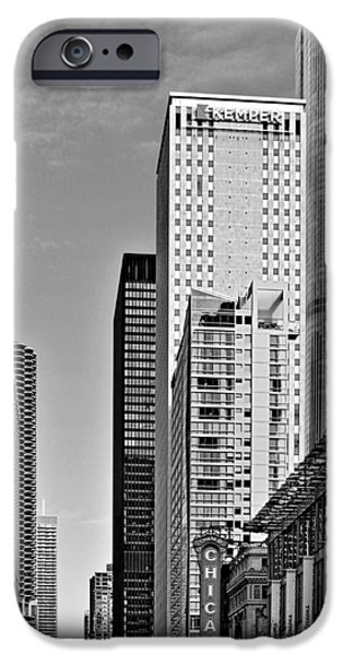 Interior Scene iPhone Cases - Chicago State Street - That great street iPhone Case by Christine Till