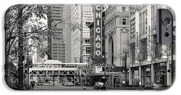 Interior Scene iPhone Cases - Chicago Theatre - French Baroque out of a movie iPhone Case by Christine Till
