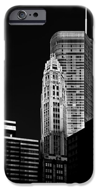 Interior Scene iPhone Cases - Chicago - Trump International Hotel and Tower iPhone Case by Christine Till