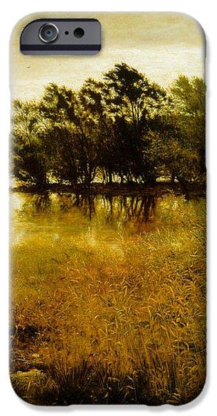 Chill October iPhone Case by John Everett Millais
