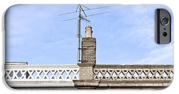Balcony iPhone Cases - Chimney iPhone Case by Tom Gowanlock