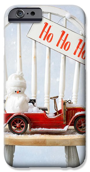 Snow Scene iPhone Cases - Christmas iPhone Case by Amanda And Christopher Elwell